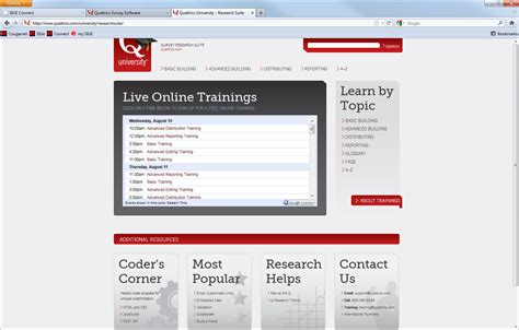 siue it help desk qualtrics introduction
