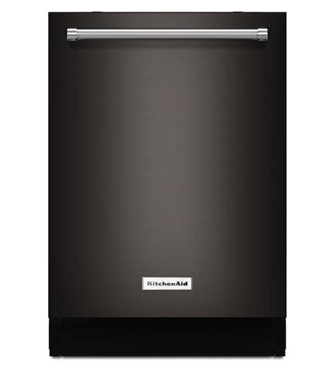 Kitchenaid Stainless Dishwasher by Black Stainless Steel Dishwasher Kitchenaid Kdtm404ebs