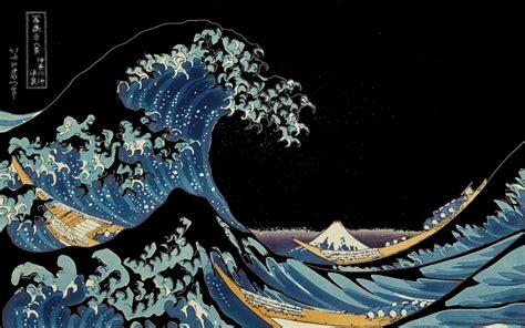 great wave wallpaper wallpapersafari