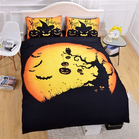 halloween bed sheets popular halloween bedding buy cheap halloween bedding lots