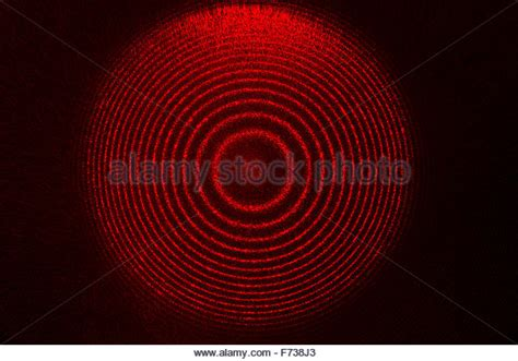 interference pattern for white light interference experiment stock photos interference
