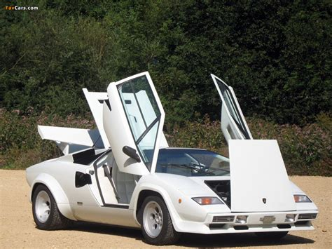 89 Lamborghini Countach Lamborghini Countach Lp5000 S Quattrovalvole 1985 89