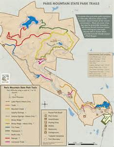 Paris Mountain State Park Map by Paris Mountain State Park Maplets