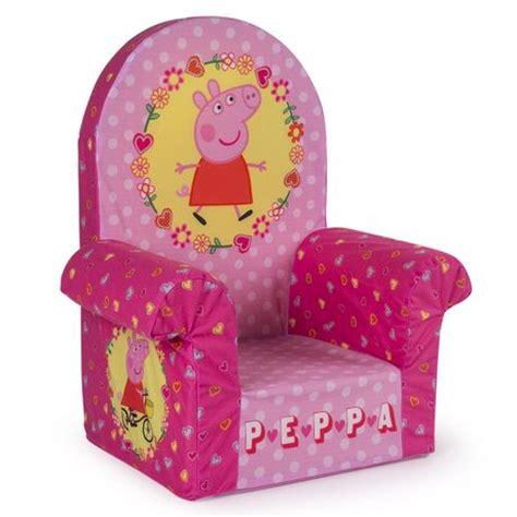 peppa pig chair marshmallow furniture peppa pig children s upholstered