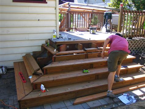 Building Deck Stairs by Ballerina Breath That Quote Is Silly Let S Just Do It