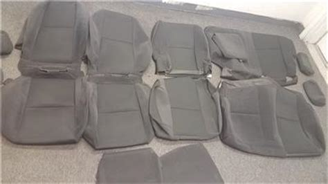 2008 silverado oem seat covers 2007 2013 chevy silverado gmc 1500 2500 black