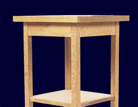 build an bedside table pdf plans night stand or bedside table pla