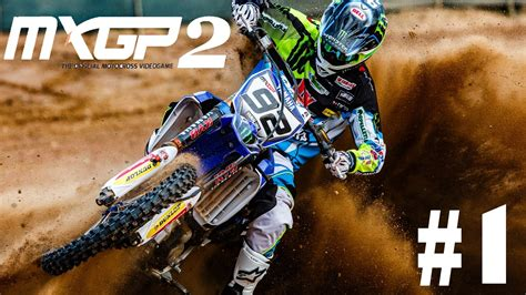 what channel is the motocross race on mxgp2 the official motocross career walkthrough