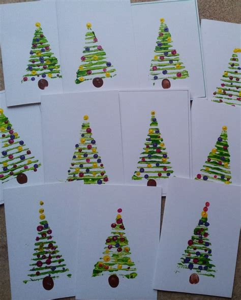 christmas tree christmas cards mermaids makings