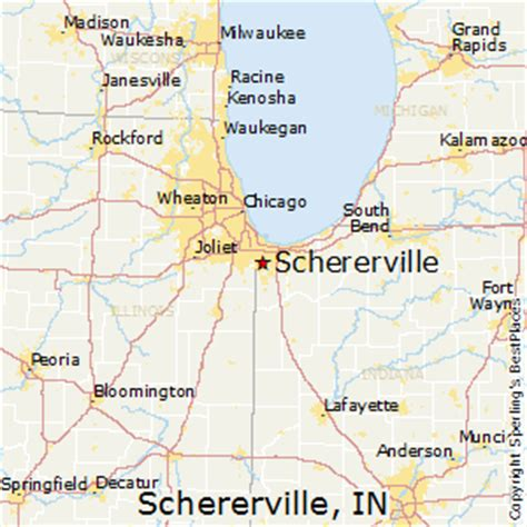 best places to live in schererville indiana