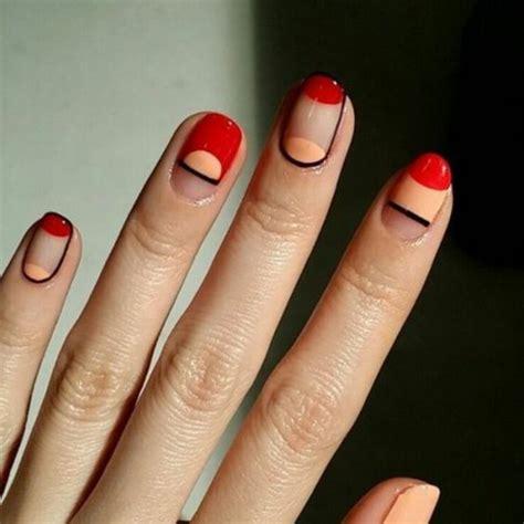 Einfache Nägel by 40 Nageldesign Bilder Schlichte N 228 Gel Nach Den Neuen Tends