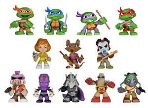 funko reveals teenage mutant ninja turtles minis