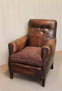 Leather Armchair by Leather Armchair Antiques Atlas