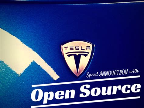 tesla speeds innovation by going open source