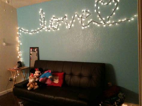 diy lights phrase random corks