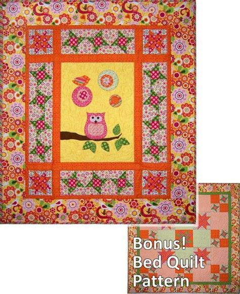 quilt pattern owl quilt pattern abby s owl two quilts in one pattern
