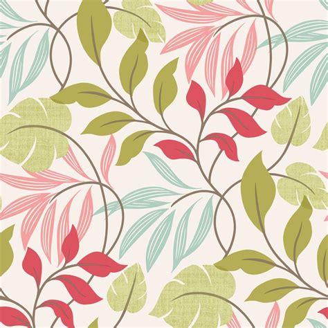 eden pattern wallpaper beacon house eden pink modern leaf trail wallpaper 2535