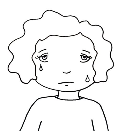 sad template free coloring pages of sad guys