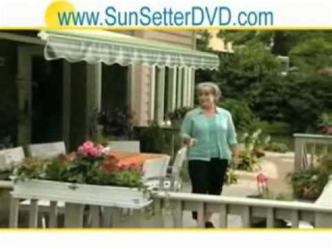 Sunsetter Awning Commercial by Sunsetter Awnings Tv Commercial How To Save Money And Do