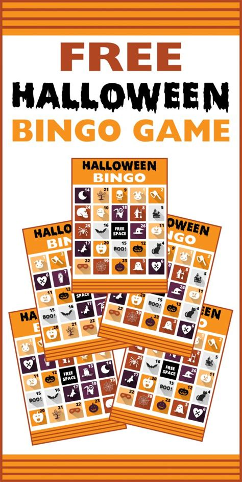free halloween printable games for adults best 25 halloween bingo cards ideas on pinterest