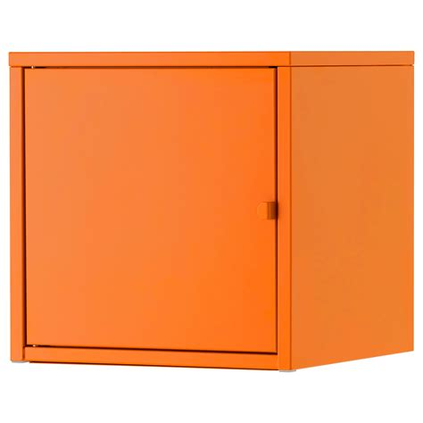 ikea bedroom cabinets lixhult cabinet metal orange 35x35 cm ikea