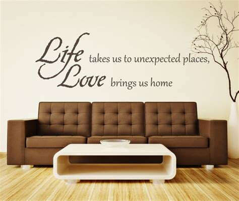 Places To Buy Wall Decor by Wall Decor Decal Brings You Home By