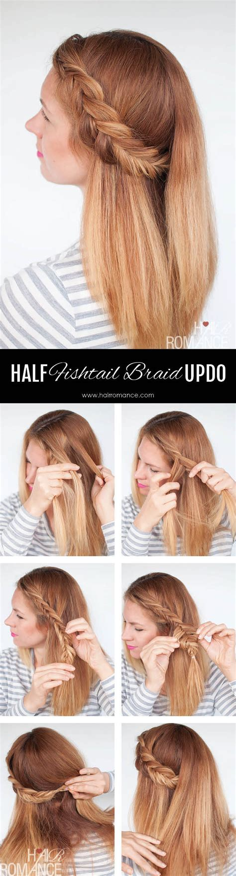 steps to show how to make fish tail favload reverse fishtail braid tutorial two ways