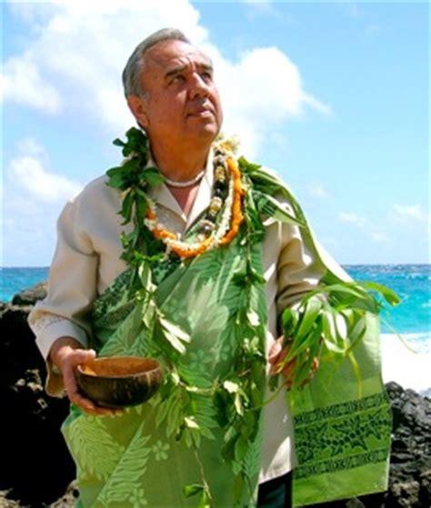 Kahuna Priest kahu wendell silva an authentic hawaiian kahuna