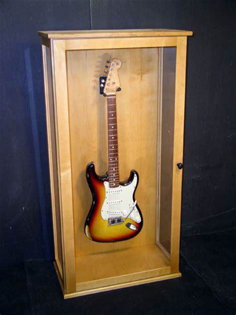how to build a guitar display cabinet plans diy free