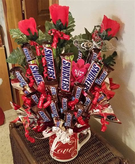 valentines sweet bouquets snickers valentines bouquet bouquet