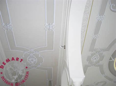 decorazione soffitto decorazione pareti e soffitto per ingresso scala e camere
