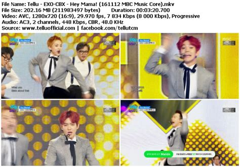 download mp3 exo hey mama download perf exo cbx hey mama mbc music core 161112