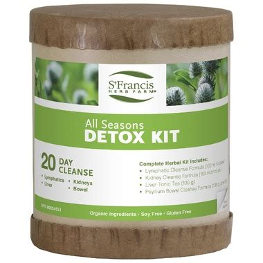 St Francis Detox buy st francis herb farm all seasons detox kit at well ca