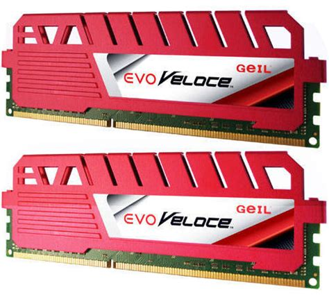 Memory Pc Geil Ddr3 Evo Veloce Pc12800 Dual Channel 16gb geil evo veloce 8gb ddr3 2x 4gb ddr3 1600mhz memory
