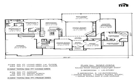 2 story house plans with basement 3 bedroom 2 story home floor plans basement bedrooms