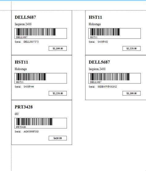 Inventory Tags Combo Inventory Tags Custom Printed Inventory Tags From St Louis Tag Inventory Inventory Labels Template