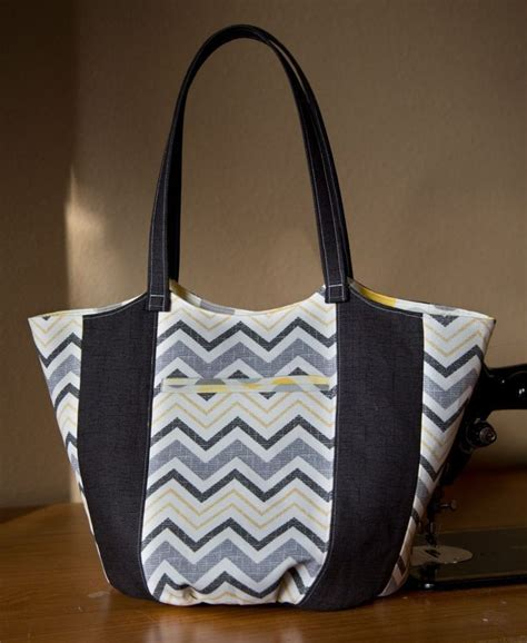 bucket tote bag pattern anna tote bag bucket purse pdf sewing pattern tuesday