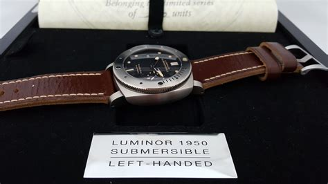 Jam Tangan Panerai Automatic Submersiblelimited Stok panerai pam 569 titan destro limited edition sold