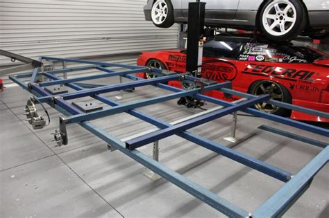 diy hard floor cer trailer plans ets trailer build its getting there engineered to slide