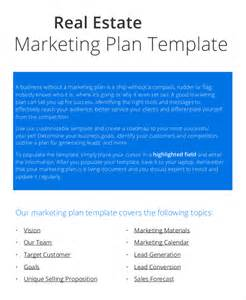 real estate business plan template free 20 marketing plan templates free premium templates
