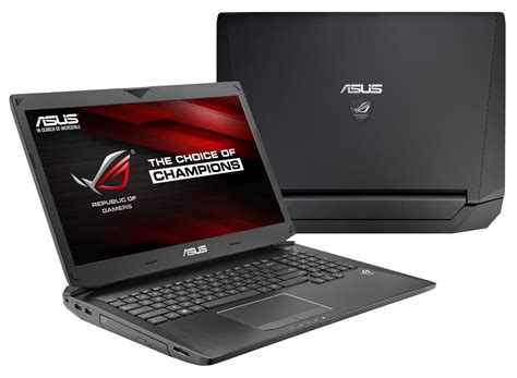 Laptop Asus For Gaming asus republic of gamers announces exciting new g750 gaming