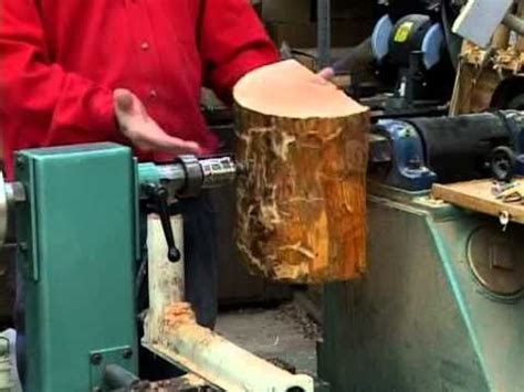 lyle  mounting wood blanks   lathe youtube wood