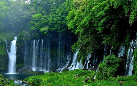 4k wallpaper waterfall beautiful waterfall fujinomiya 4k ultra hd wallpaper hd