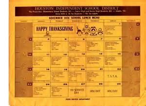 Isd Lunch Menu From The Time Capsule School Lunch In 1974 The Lunch Tray
