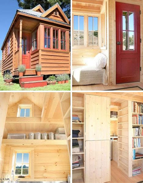 tiny homes trend semi mobile small space living