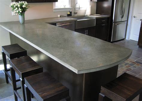 3 tips for choosing concrete countertops modern kitchens