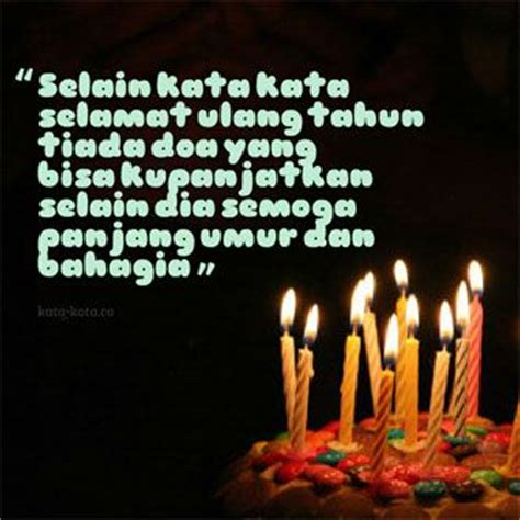 kata ucapan selamat ulang tahun dan doa ulang tahun islami kata kata co