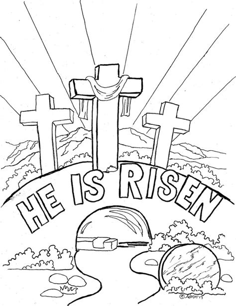 Easter Coloring Pages Free Christian | christian easter coloring pages az coloring pages