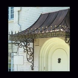 decorative awning brackets custom made decorative antique copper awning with wrought
