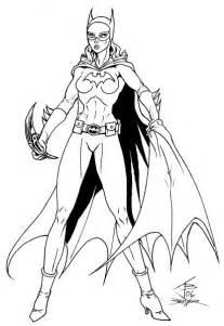 batgirl coloring pages illmosis batgirl